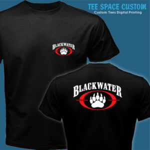 Blackwater - Men Black Tee (TSC)