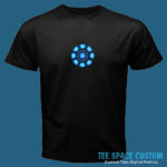 Arc Reactor - Black Tee (TSC)