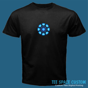 Arc Reactor - Black Tee (TSC)
