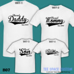 B07 - Blessed Family - White Tee (TSC)