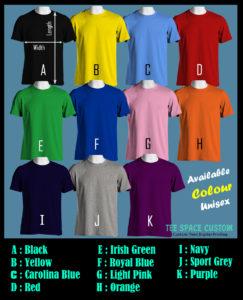 Colour Tee - Layout (TSC)