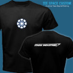 Stark Industries - Men Black Tee (TSC)