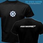 Stark Industries - Men Black Tee (TSC)