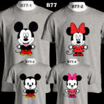 b77-mickey-minnie-family-color-tee