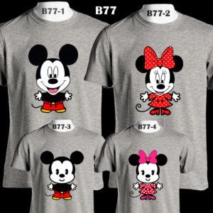 b77-mickey-minnie-family-color-tee