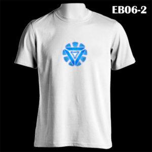 EB06-2 - Arc Reactor - White Tee (E)