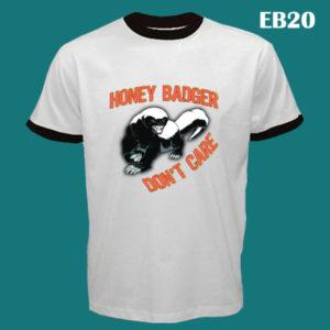 EB20 - Honey Badger - Ringer Tee (E)