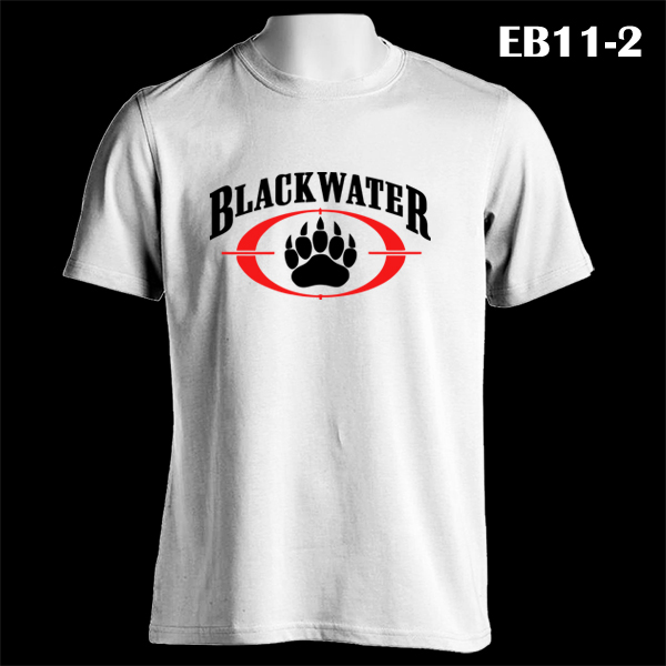 163f6daa9 BLACKWATER Academi Special Military Army | EB11-2 | White T-Shirt ...